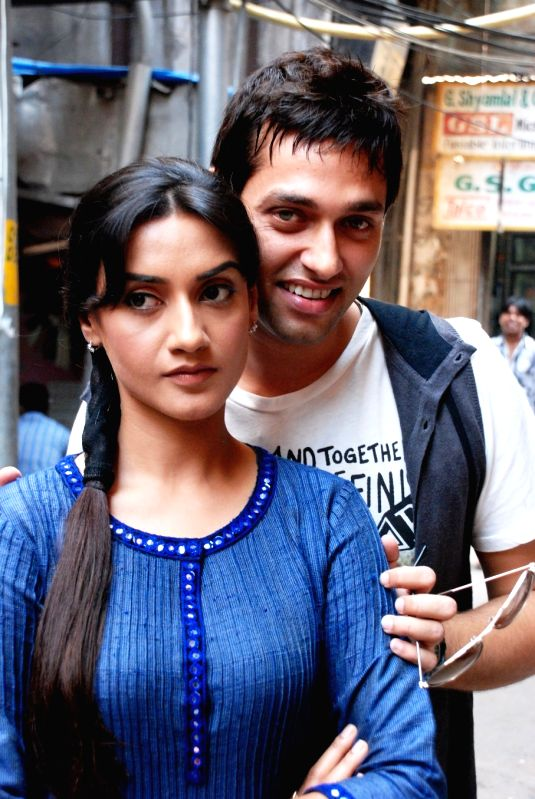 "Sumit Vats and Rati Pandey in ""Hitler Didi"""