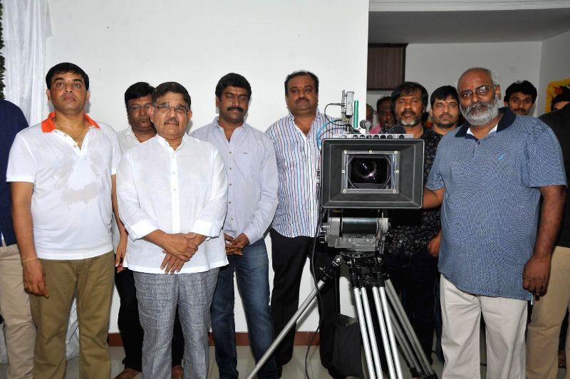 Sunil and Vasu Varma`s new film launch at Hyderabad.
