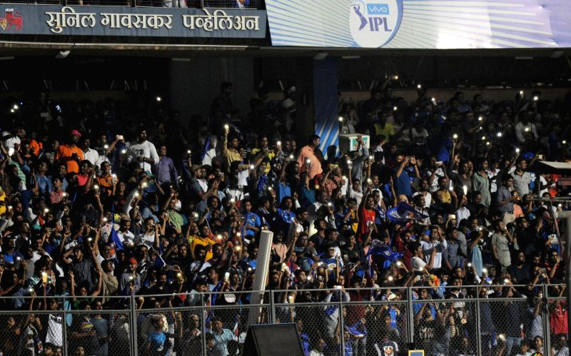 Sunil Gavaskar stand at Wankhede Stadium. (File Photo: IANS)
