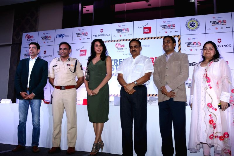 Announcement of campaign Street Smart - Street Safe - Pooja Bedi
