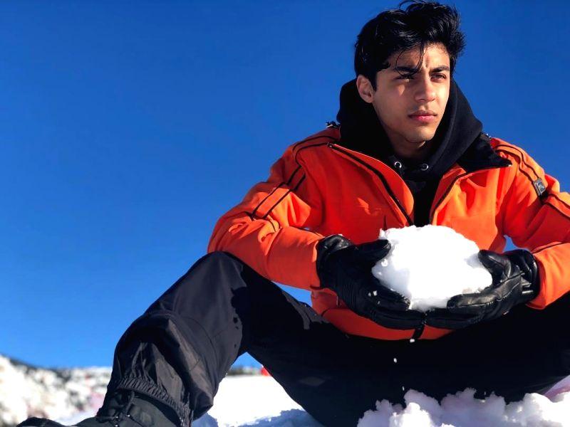 Superstar Shah Rukh Khans son Aryan