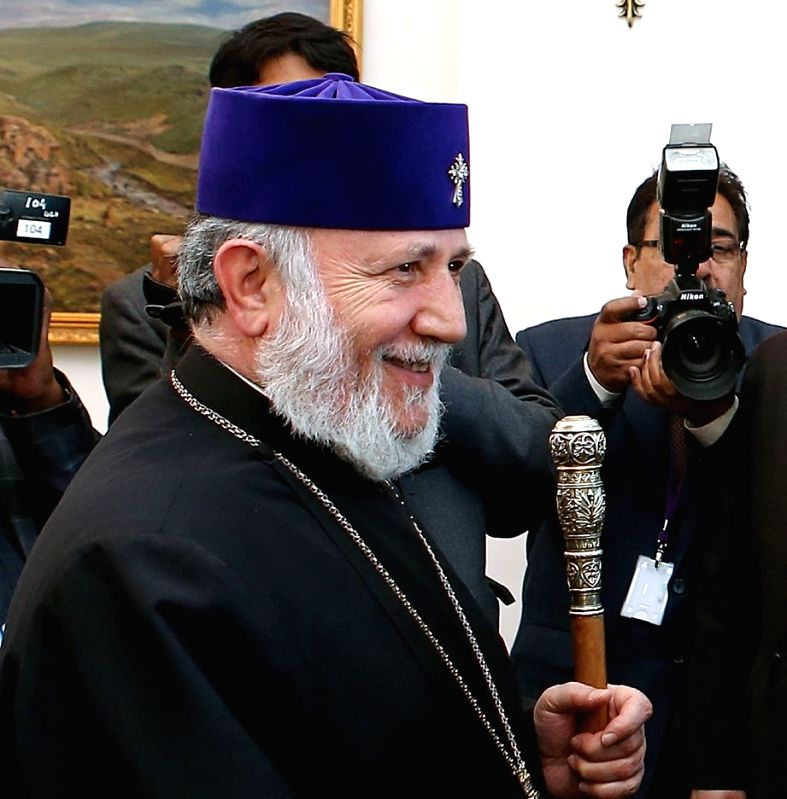 Supreme Patriarch and Catholicos of all Armenians, His Holiness Karekin II. (File Photo: IANS)