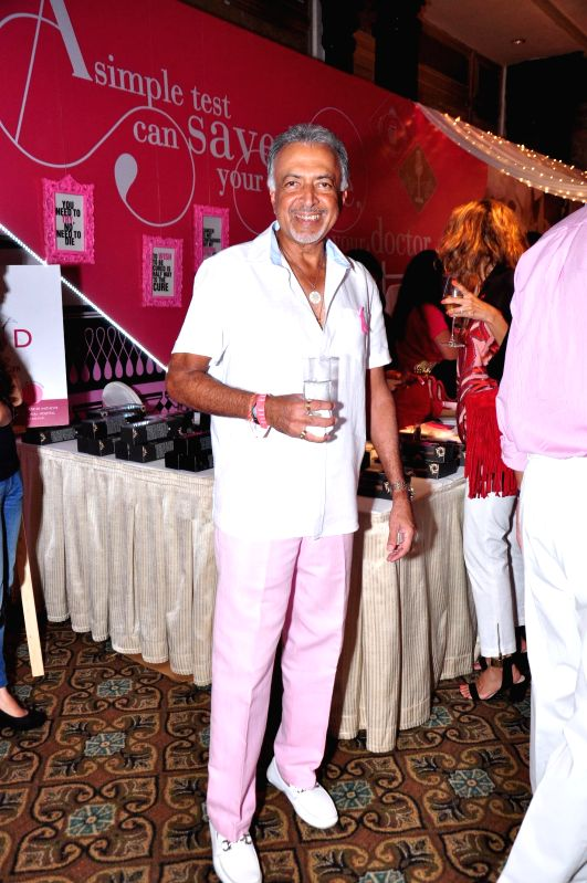 Suresh Bhojwani during ELLE Carnival for a Cause 2014 event in Mumbai on 18 May 2014.