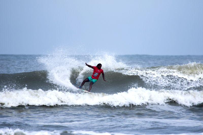 Surfer Vicky Vijay Kumar. (File Photo: IANS) - Vicky Vijay Kumar