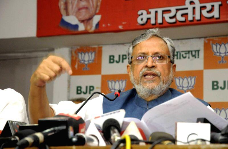 Sushil Kumar Modi. (File Photo: IANS) - Sushil Kumar Modi