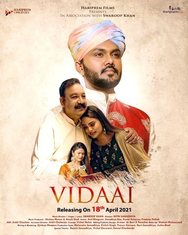 Swaroop khan on new song Vidaai is part of me