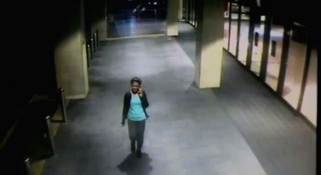 A picture captured from a video released by the NSW Police on its youtube channel, shows 41-year-old Prabha Arun Kumar, an Indian woman IT consultant walking home from work, in Sydney, ... - Prabha Arun Kumar