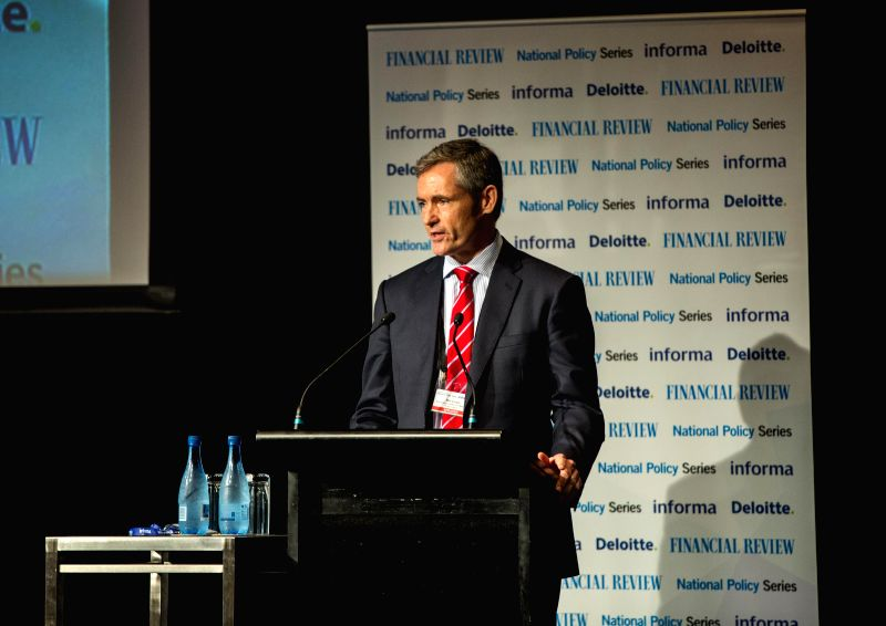SYDNEY, April 5, 2016 - Secretary General of the Basel Committee on Banking Supervision William Coen delivers a speech in Sydney, Australia, April 5, 2016. Though the biggest banks in the world have ...