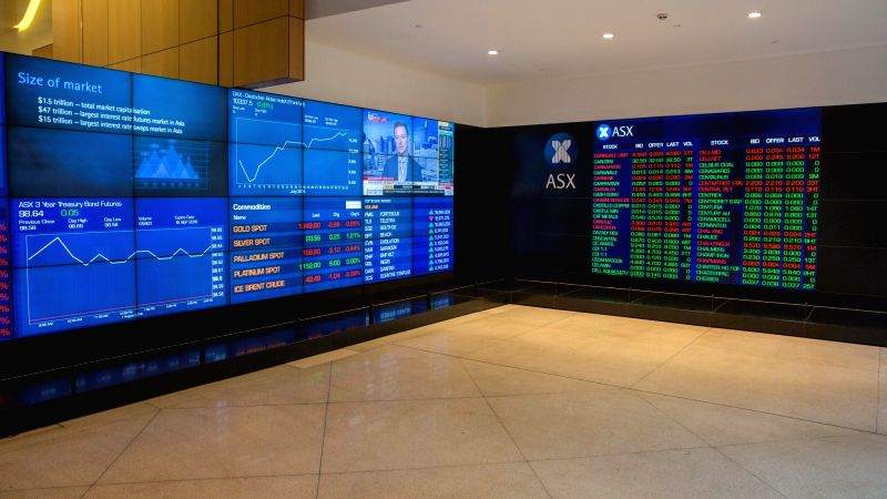 SYDNEY, Aug. 1, 2016 - Photo taken on Aug. 1, 2016 shows a scene at the Australian Securities Exchange Ltd's (ASX) in Sydney, Australia. The ASX has appointed Dominic Stevens as its new managing ...