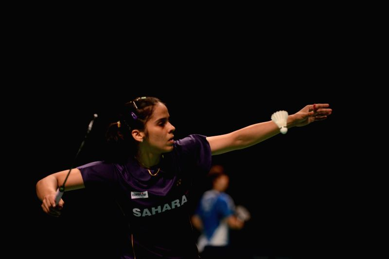 Sydney June 29, 2014  Badminton - Australian Open: Wang Shixian missed the final on June 28 and India's Saina Nehwal in the game, 2014 Australian Open women's singles badminton semifinals ...
