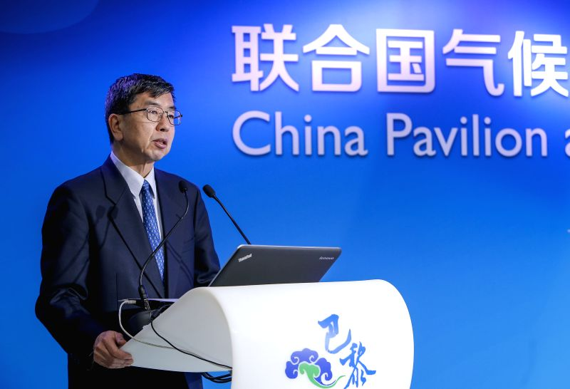 Takehiko Nakao, President of Asian Development Bank(ADB), speaks during the China-ADB Cooperation on Climate Change Side Event on the sidelines of the 2015 United ...