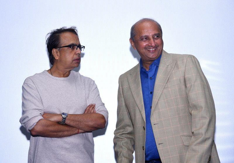 Talasari: Acclaimed actor-filmmaker Ananth Mahadevan with Mumbai Homoeopathic doctor Jatin N. Valia in Talasari. (Photo: IANS)