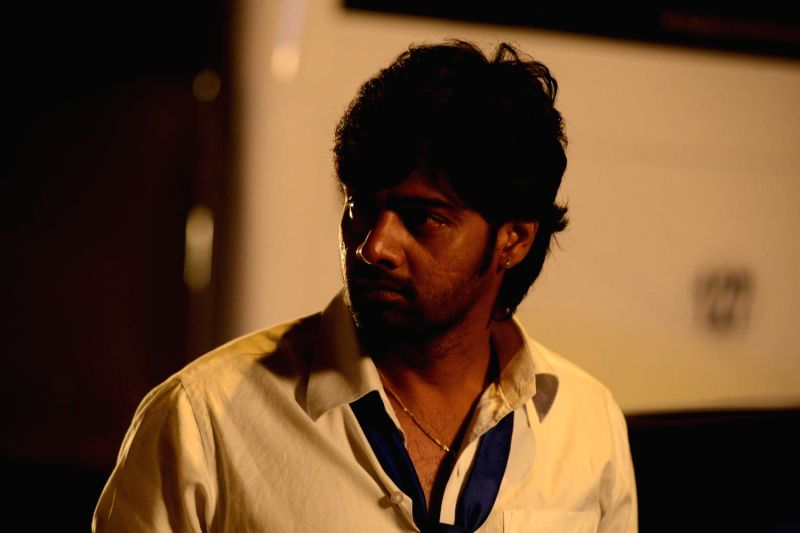 Tamil movie `Sarabham` stills.