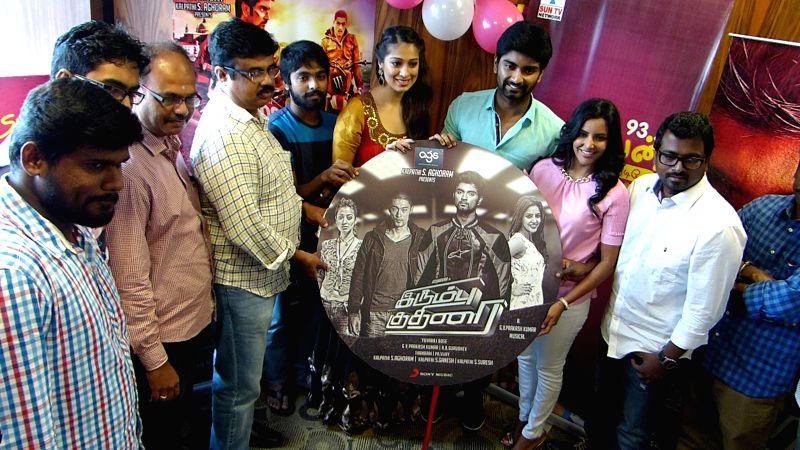 Tamil movie `Yennamo Nadakkudhu` audio launch stills.