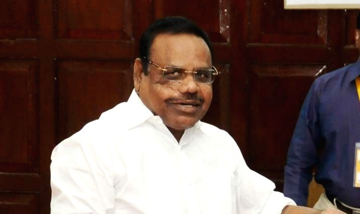 Tamil Nadu Speaker P Dhanapal. (File Photo: IANS)