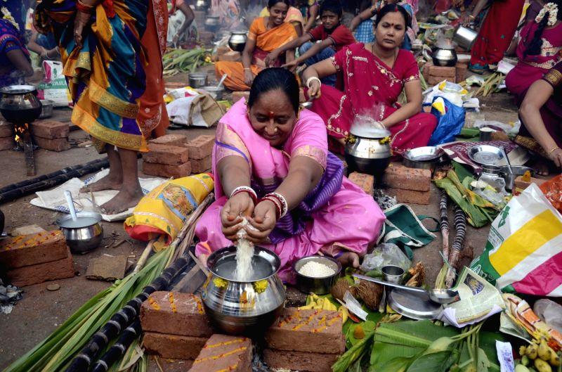 Pongal at Dharavi