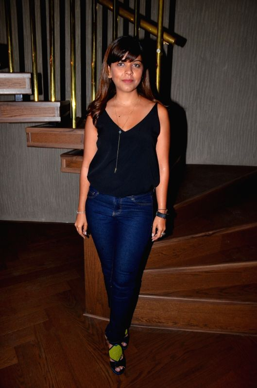 Tanaaz Bhatia spotted outside the new restaurant designed by Gauri Khan, in Mumbai on June 12, 2017. - Khan