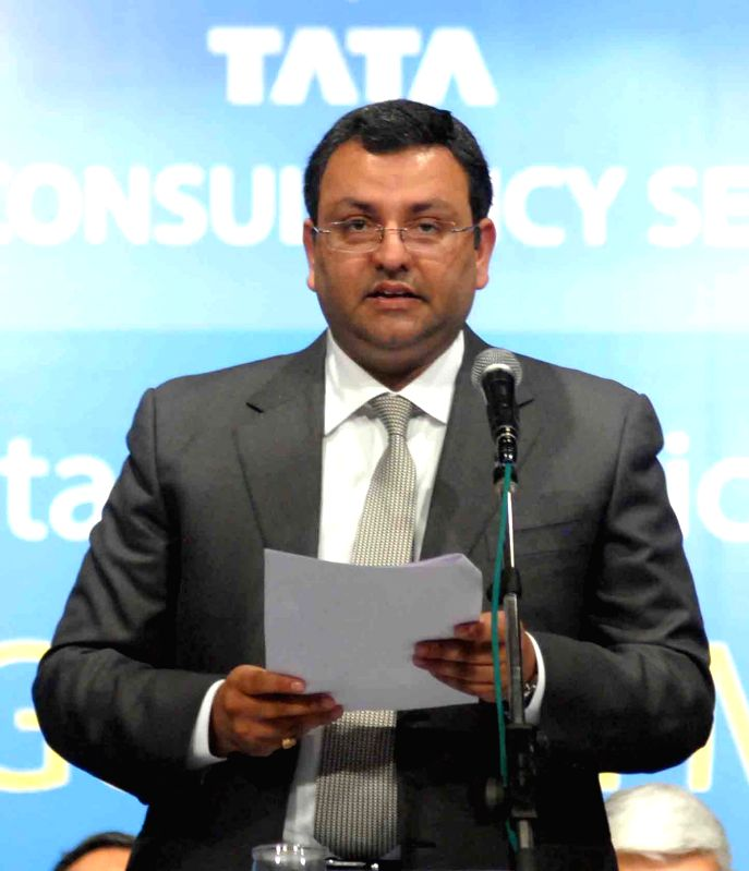 Tata Group Chairman Cyrus Mistry during Annual General Meeting of TCS in Mumbai on June 27, 2014.