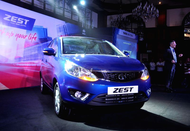 TATA launches 'Zest' in Kolkata on Aug 19, 2014.