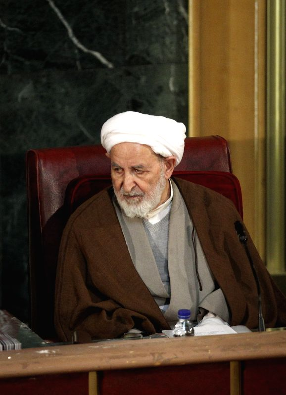 Ayatollah Mohammad Yazdi, new chief of Iran's Assembly of Experts, attends a two-day official meeting in Tehran, Iran, March 10, 2015. Iran's Assembly of Experts ...