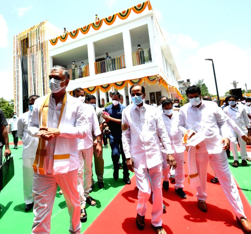 Telangana a role model for other states, says KCR