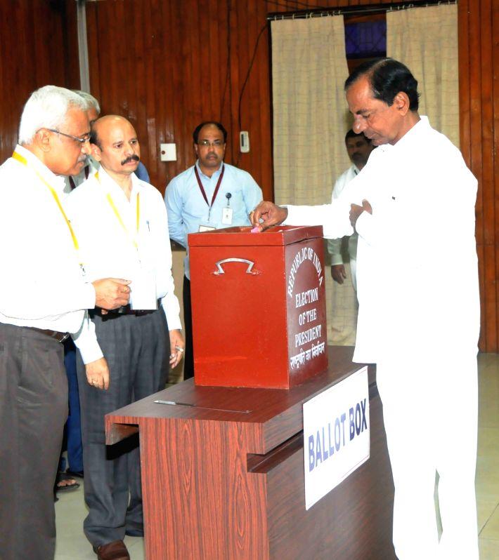 Presidential Polls- K Chandrashekhar Rao - K Chandrashekha