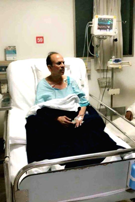 Telangana Deputy Chief Minister Mohammad Mahmood Ali admitted at a Hospital in Hyderabad, on Feb 2, 2018. - Mohammad Mahmood Ali