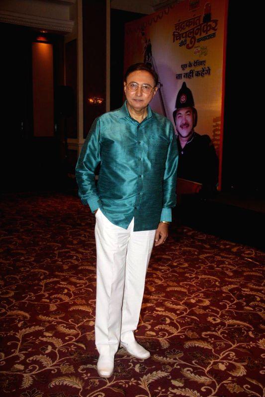 Television actor Anang Desai during the launch of new TV Show Chandrakant Chiplunkar Seedi Bambawala in Mumbai Aug 6, 2014. - Anang Desai