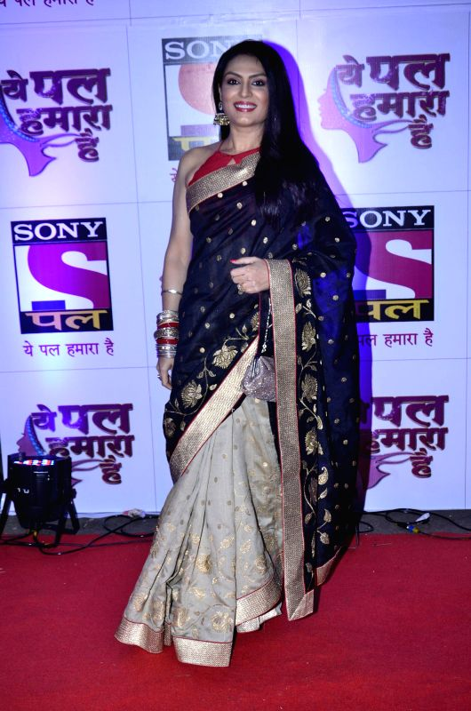 Television actor Anjali Mukhi during launch of serial Yeh Pal Hamara Hai on television channel Sony Pal, in Mumbai, on Aug. 21, 2014. - Anjali Mukhi