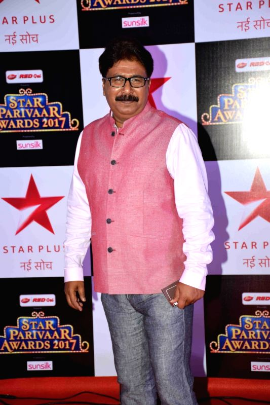 Television actor Ashok Lokhande during the red carpet of Star Parivaar Awards 2017 in Mumbai on May 13, 2017. - Ashok Lokhande