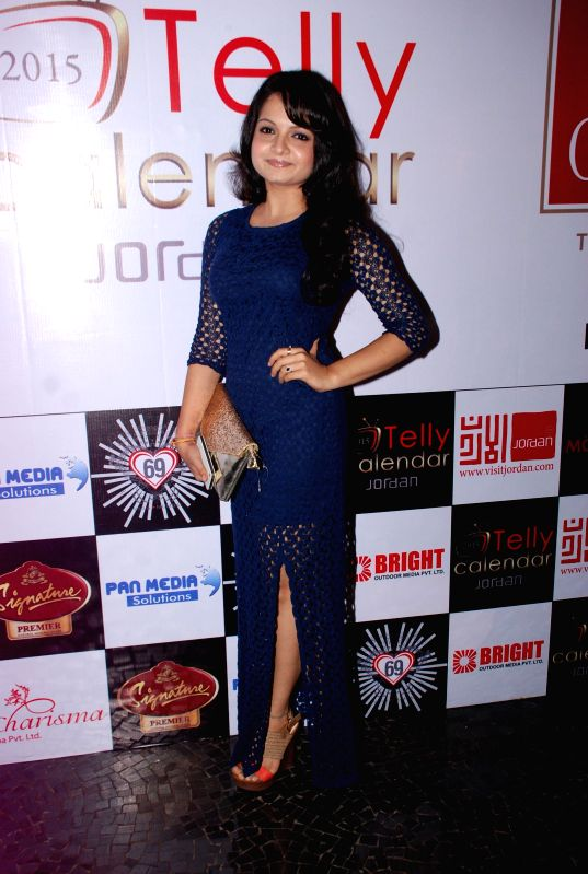 Television actor Gia Manek during the announcement of Telly Calendar 2015 in Mumbai on July 31, 2014. - Gia Manek