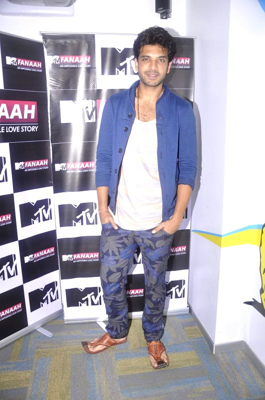 Television actor Karan Kundra during the press conference featuring his new show MTV Fanaah, a teen love story, in Mumbai on July 16, 2014. - Karan Kundra