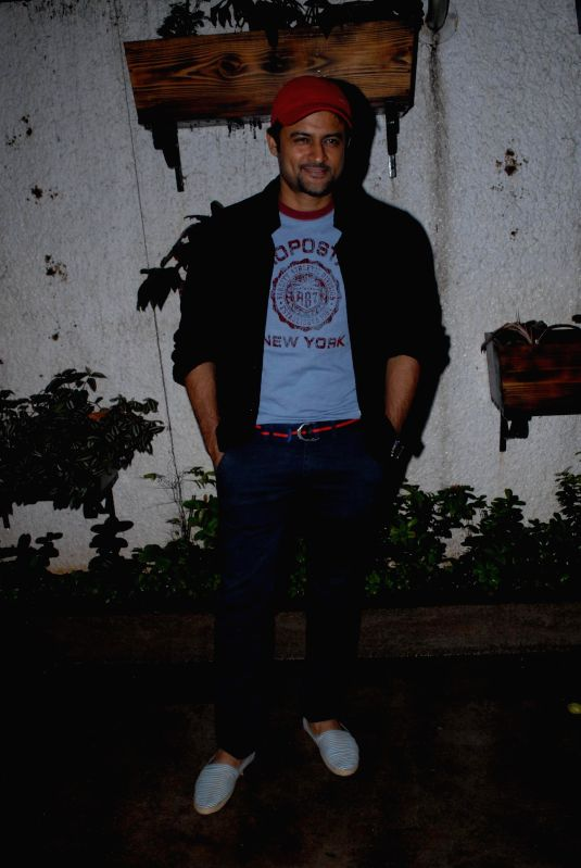Television actor Manav Gohil during special screening of film Hate Story 2, in Mumbai on July 17, 2014. - Manav Gohil