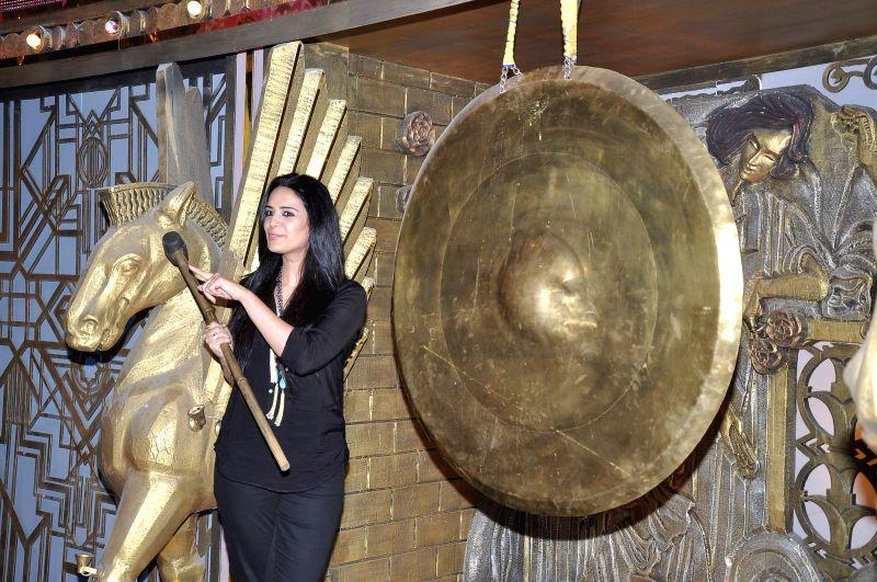 Television actor Mona Singh during the launch of TV show Entertainment Ke Liye Kuch Bhi Karega in Mumbai, on May 8, 2014. - Mona Singh