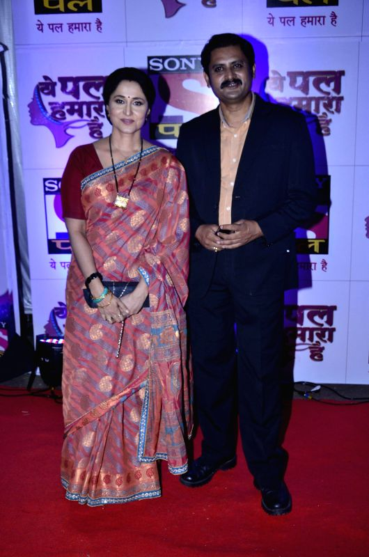 Television actor Nishigandha Wad during launch of serial Yeh Pal Hamara Hai on television channel Sony Pal, in Mumbai, on Aug. 21, 2014. - Nishigandha Wad