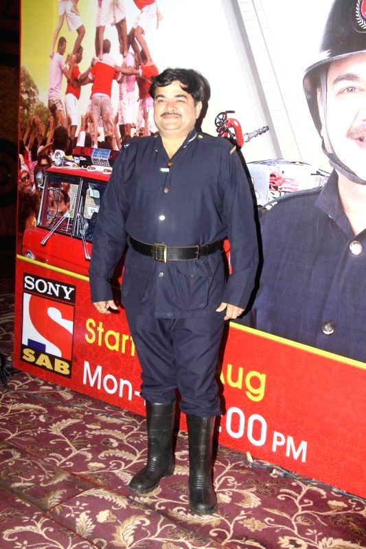 Television actor Prashant Damle during the launch of new TV Show Chandrakant Chiplunkar Seedi Bambawala in Mumbai Aug 6, 2014. - Prashant Damle