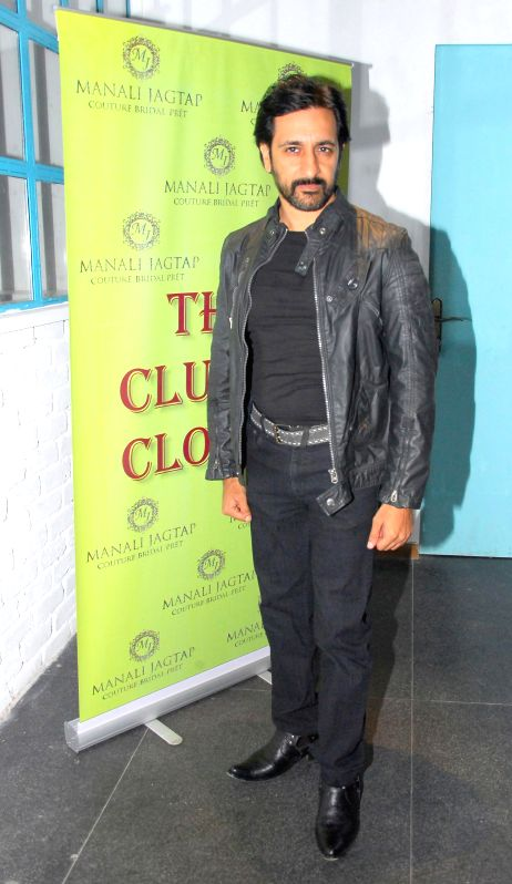Television actor Rajeev Paul during the launch of Manali Jagtap's new `Clutch Closet` bridal handbag collection preview event in Mumbai on July 11, 2014. - Rajeev Paul