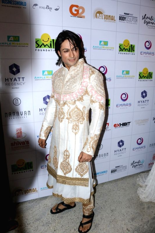 Television actor Shaleen Bhanot during the 11th edition of Ramp for Champs organised by NGO Smile Foundation, in Mumbai on Oct 13, 2016. - Shaleen Bhanot