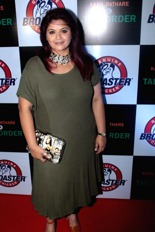 Television actor Shweta Khanduri during celebration of two victorious brands Geniune Broaster Chicken and book A Tall Order in Mumbai, on May 31, 2017. - Shweta Khanduri