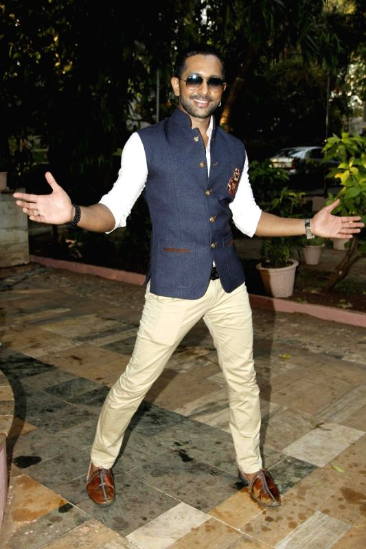 Television actor Terence Lewis during during the launch of Nisha Rawal's song, Choti si Asha, to raise funds for under privileged children in Mumbai, on Nov 13, 2015. - Terence Lewis