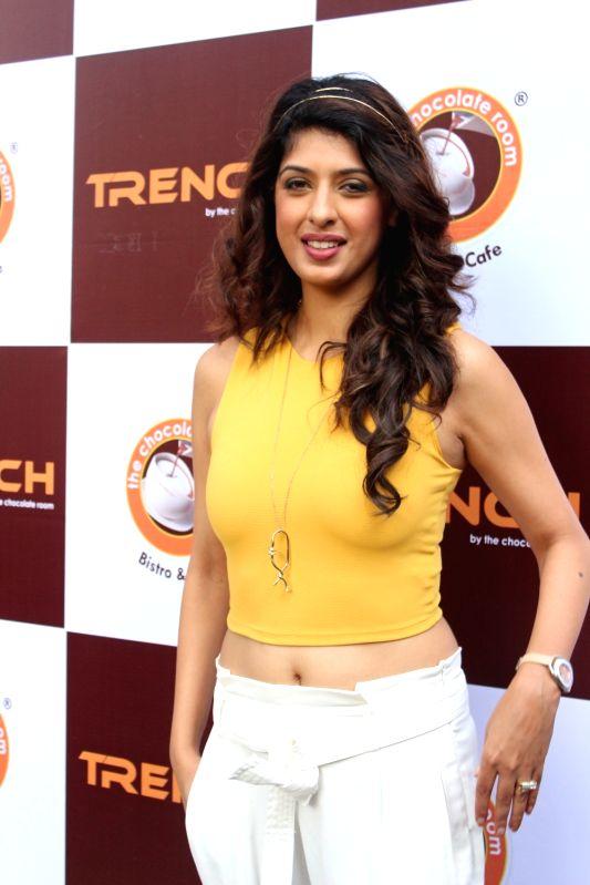 Television actress Aishwarya Sakhuja during a programme in Mumbai, on Nov 18, 2017. - Aishwarya Sakhuja
