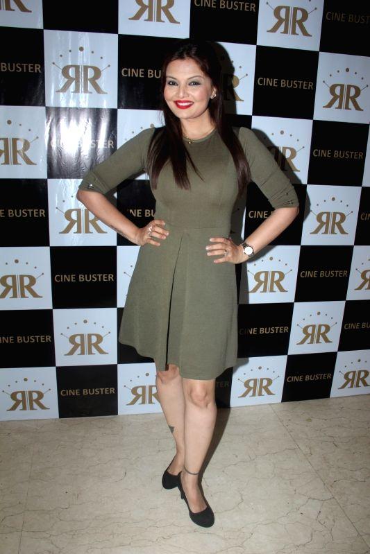Television actress Deepshikha during the launch of Cine Buster Magazine in Mumbai on June 10, 2017. - Deepshikha
