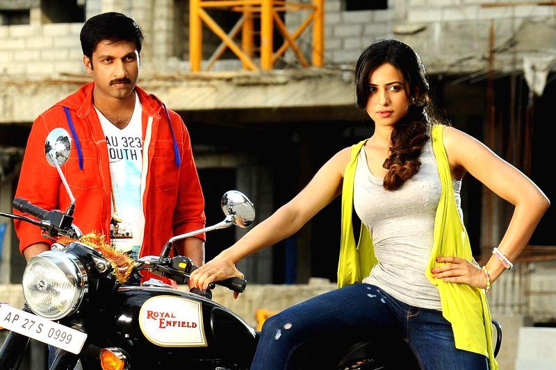 Telugu film actor Gopichand movie photos.