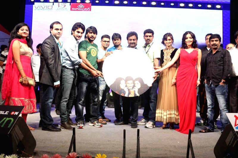 Telugu film `Gaalipatam` audio release.