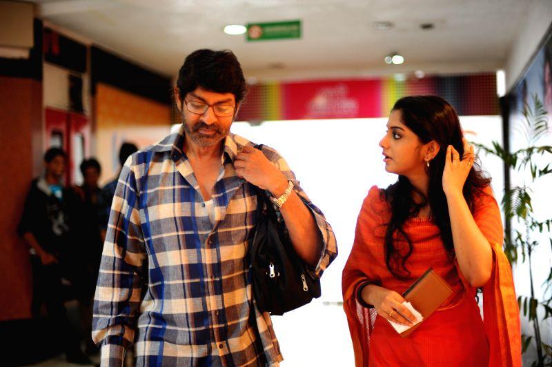 Telugu film Hitudu stills.