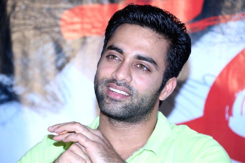 Telugu film `Ice Cream` Trailer release.