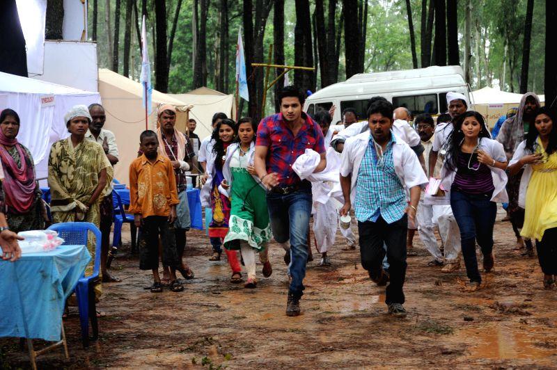 Telugu film Karthikeya stills.