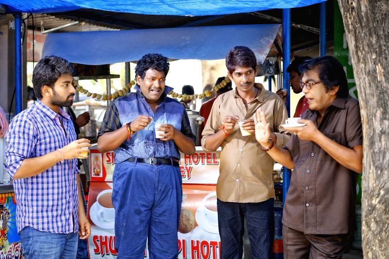 "Telugu film ""London Babulu"" stills"