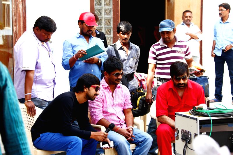 Telugu film `Power Working` stills.