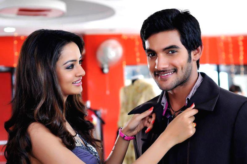 Telugu film Pyar Mein Padipoyane Stills.